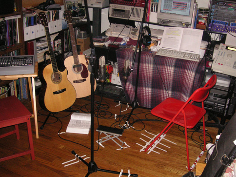 Dale Turner's Home Studio