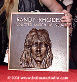 Randy Rhoads Hollywood Rock Walk